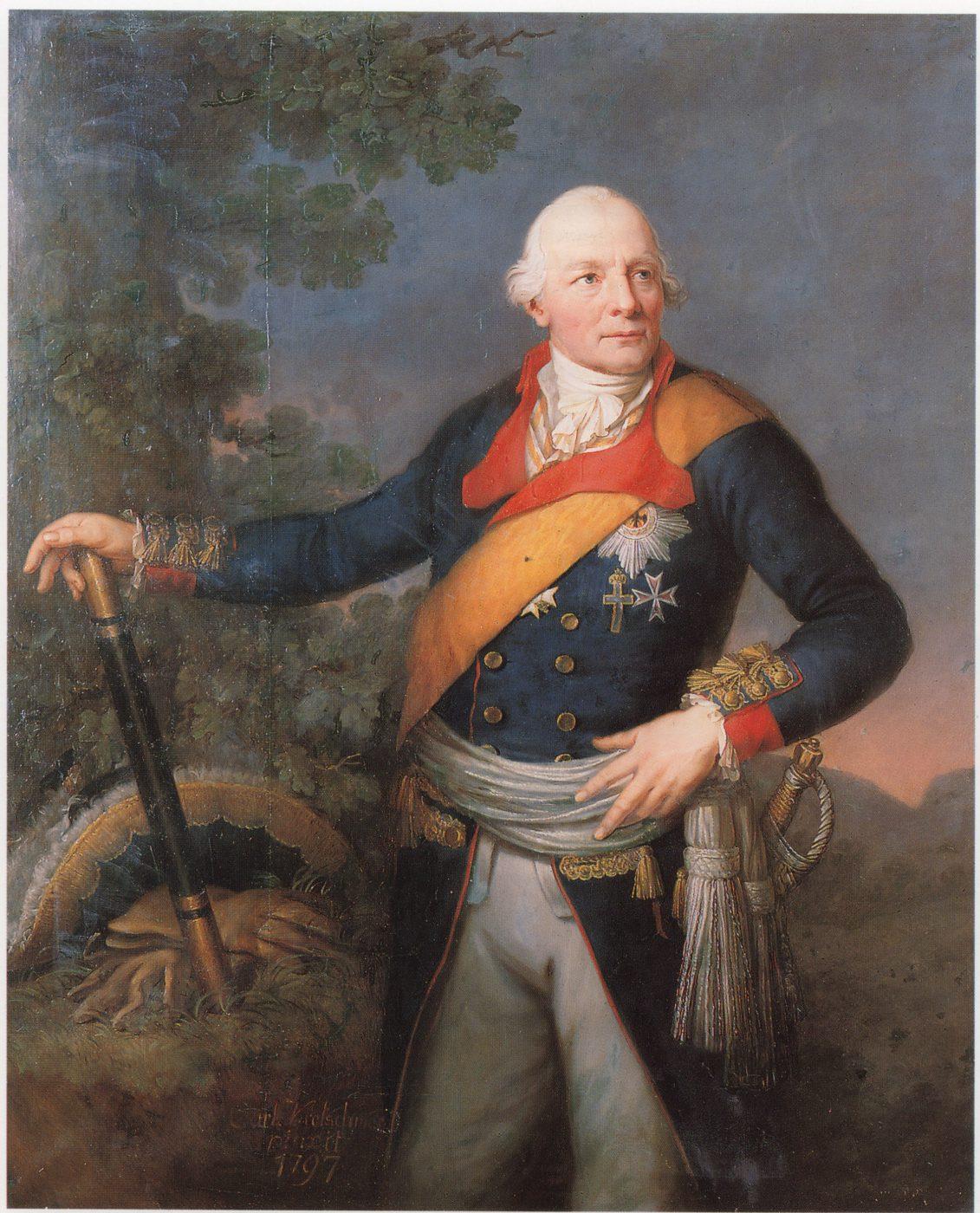 Wichard von Moellendorff. Gemälde von Carl Kretschmar