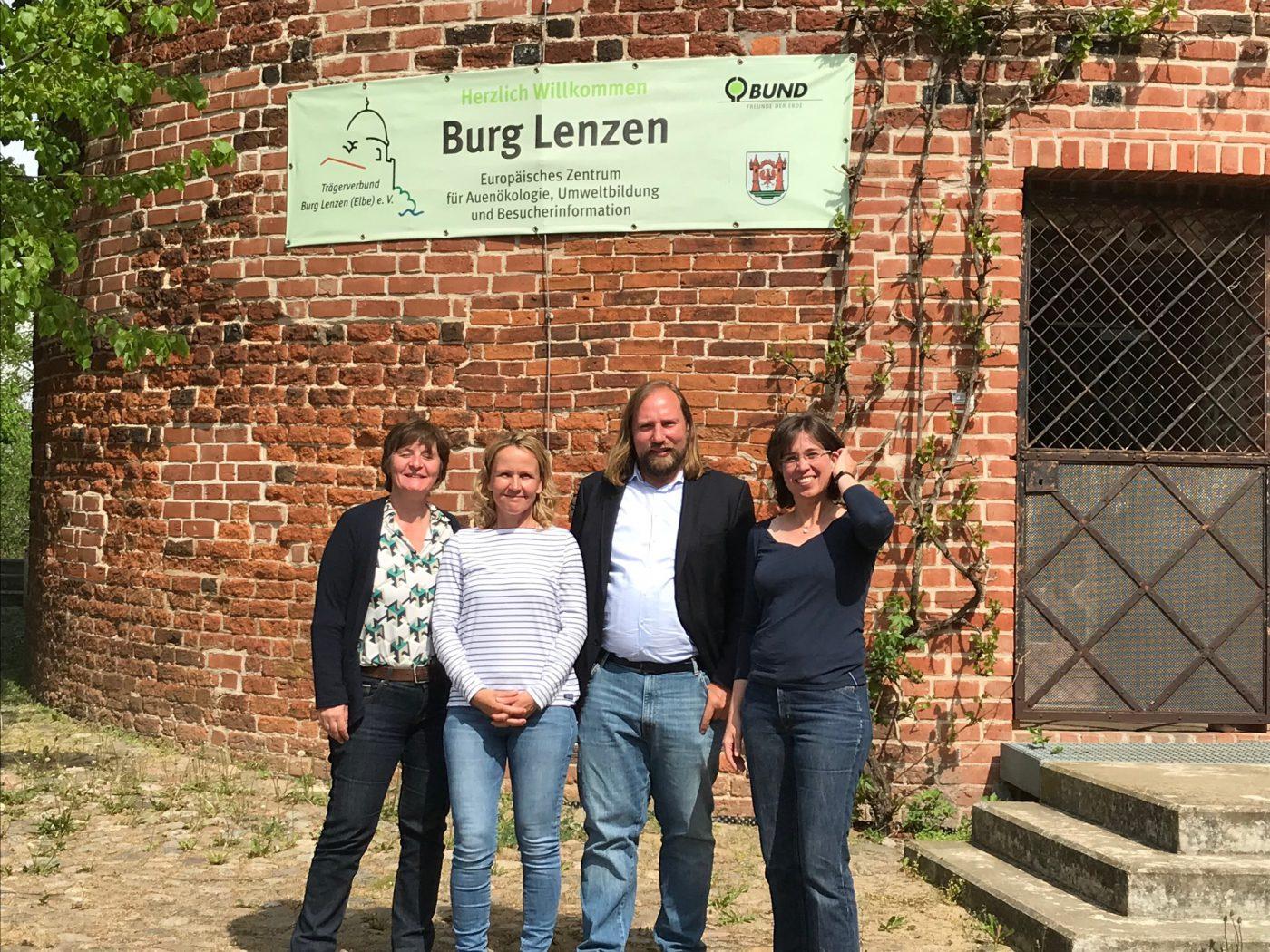 Bundesgrüne auf Burg Lenzen_Rüdiger Herzog