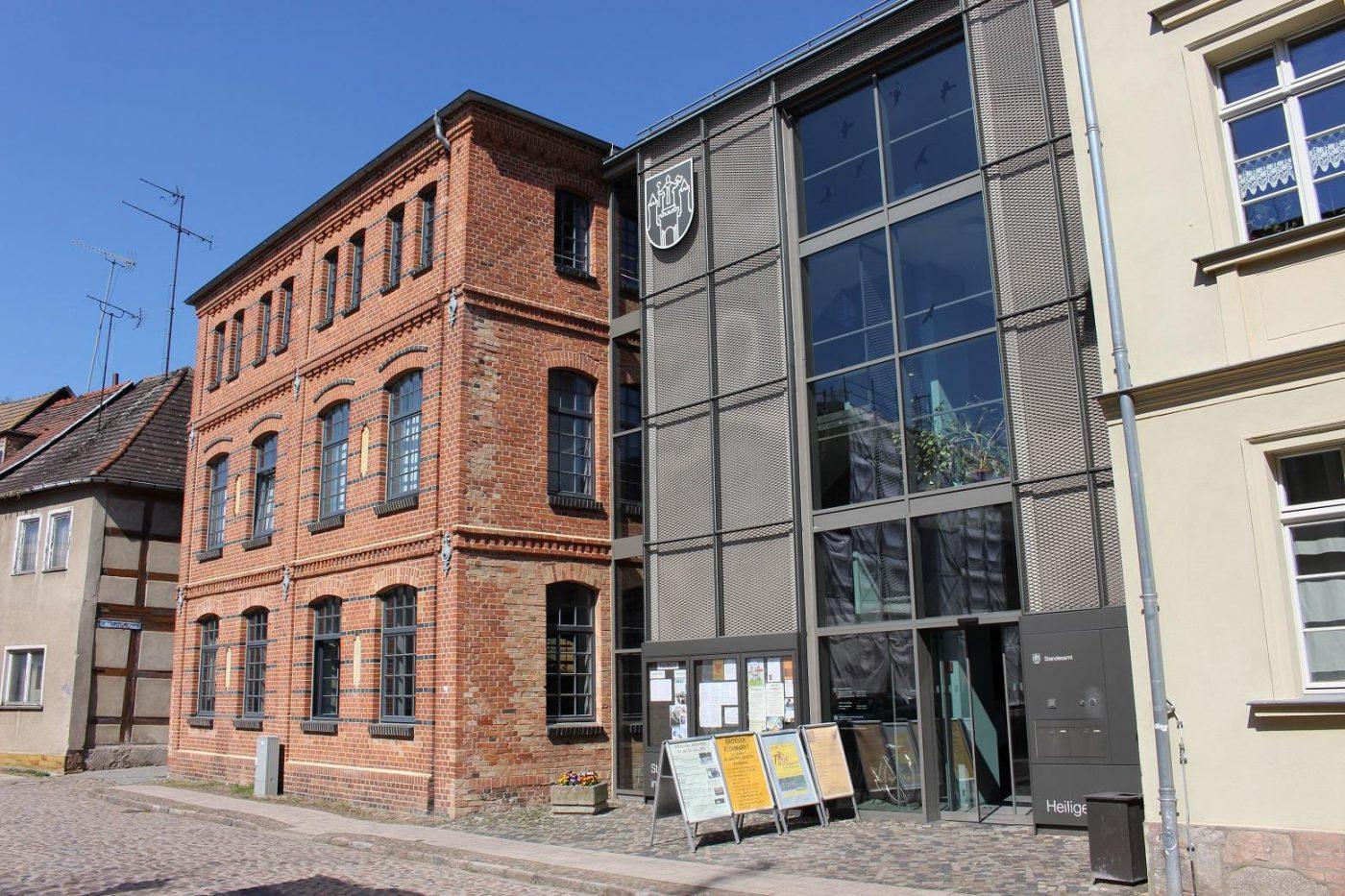Bürgerbüro Wittenberge öffnungszeiten
