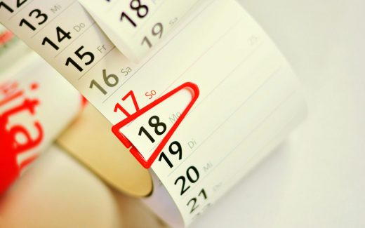 Termin, Kalender, Veranstalter