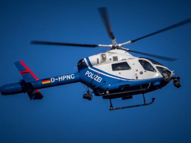 Polizei, Hubschrauber