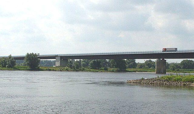 Elbebrücke Wittenberge A14